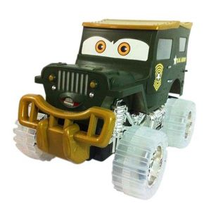 Electric Toys Plastic Cartoon Friction Car with Music and Light (10213429) pictures & photos
