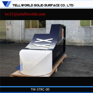 High Glossy Modern Reception Desk LED Reception Counter Gym Design pictures & photos
