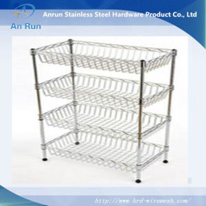 Wire Mesh Kitchen Cooking Basket pictures & photos