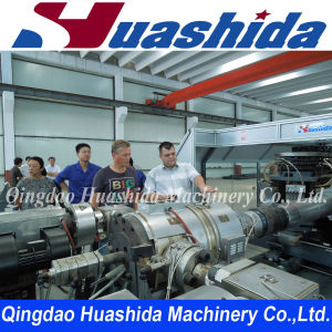 Double Wall Corrugated Pipe Production Extrusion Line pictures & photos