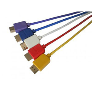 1.5m Super Slim HDMI Cable Male to Male pictures & photos
