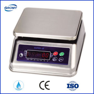 Super-6 waterproof IP68 Stainless Steel Scale 3kg pictures & photos
