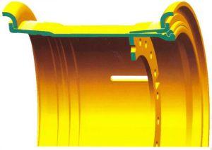 51 Inch OTR Mining Rim Wheel for Dump Truck Cat784 Cat795 Komatsu630e
