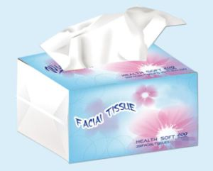 Plasticbag Facial Tissue pictures & photos