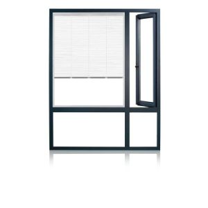 Feelingtop Aluminum Alloy Casement Roller Shutter Window (FT-W70) pictures & photos