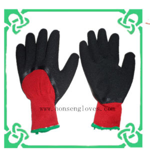 21g Latex 3/4 DIP Gloves of Safety Glove