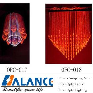 Fibre Optic Chandelier for KTV Ceiling (OFC-015)