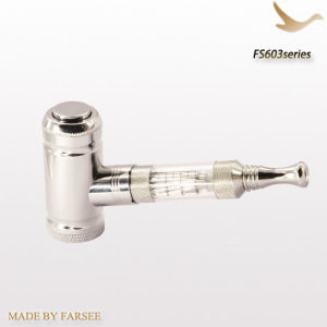 New Silver Stainless Steel E-Pipe Electronic Cigarette (FS603)