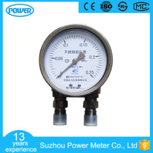 4′′ 100mm All Stainless Steel Wika Differential Pressure Gauge pictures & photos