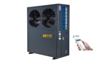 with WiFi Control 12.8kw Evi Air Source Heat Pump pictures & photos