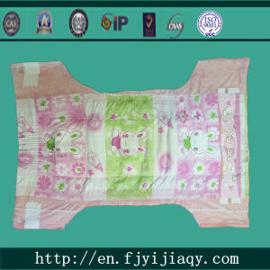 Cotton Disposable Baby Nappies pictures & photos