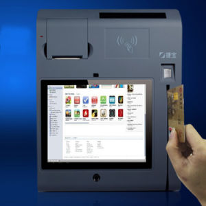 10inch All in One Touch POS Terminal with Printer/WiFi/3G/NFC/Camera/Bt/Magcard and IC-Card Reader pictures & photos