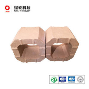 Glass Furnace Refractory Magnesia Zircon Checker Brick pictures & photos