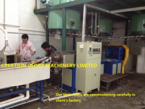 Customized EVA Hot Melt Adhesive Rod Extruding Production Machinery pictures & photos
