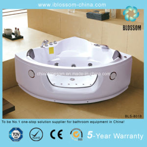 Best Selling Small Corner Whirlpool Massage Steam Bathtub (BLS-8018) pictures & photos