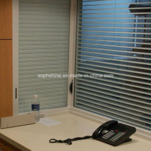 Magnetically Operated Blinds Between Insulated Glass for Office Partition pictures & photos