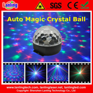 RGB Auto Magic Crystal Ball LED Family Party Disco Light pictures & photos