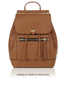 New Trendy PU Mini Backpack Candy Color Laptop Backpack pictures & photos
