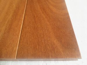 Anti Scratched Floating Brazilian Teak Parkett Wood Flooring pictures & photos