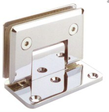 2014 New Stainless Steel 90 Degree W-G Shower Hinge (HS09G001L)