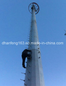 Telecommunications Monopole Steel Tower for Communication pictures & photos