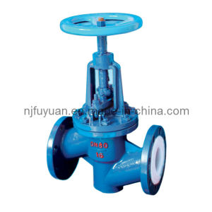 FEP Lined Globe Valve (J41) pictures & photos