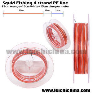 New Squid 4 Strands Braided Fishing Line pictures & photos
