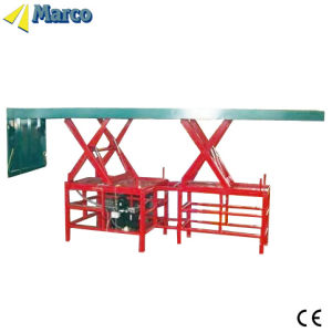 Marco Twin Scissor Lift Table with Loading Flap pictures & photos
