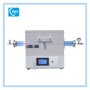 Laboratory Pid Programmable Control Electric Horizontal Tube Furnace with LCD Touch Panel Cy-O1200-60it pictures & photos