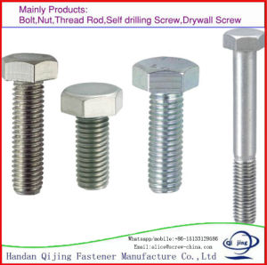 Hot Sale Latest Hex Bolts and Nuts DIN558, Hexagon Screws pictures & photos