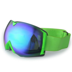 Wholesale UV 400 PC Mirrored Sporting Eyewear Ski Goggles pictures & photos