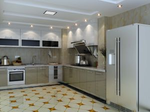 Stainless Steel Kitchen Cabinets for Waterproof Kitchen Furniture (BR-SP004) pictures & photos