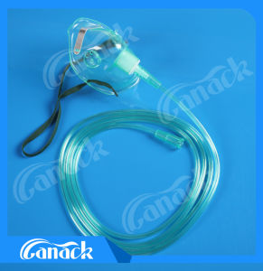 Medical Equipment Face Mask Oxygen Mask with Tube pictures & photos