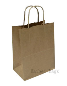 Custom Kraft Paper Gift Shopping Bag for Garment Packing pictures & photos
