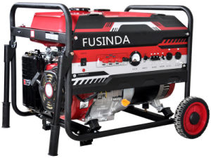 7kw Low Noise Gasoline Portable Generator pictures & photos