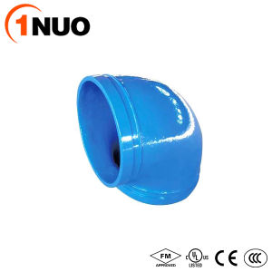 300psi Pressure Ductile Iron Pipe Fitting Grooved 11.25 Degree Elbow pictures & photos
