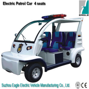 Electric Personal Carrier (EG6043P, 4-Person Police Car) pictures & photos