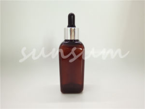 Dropper Pump for Essential Oil Bottles 100ml Amber Bottle pictures & photos