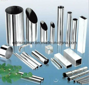 Huaye Prime Stainlesss Steel Tube (Used on Decoration, Construction, etc) pictures & photos