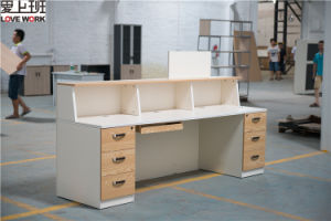 Modern Design Wooden Reception Desk for Sale pictures & photos