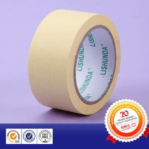 Yellow Masking Tape Crepe Paper Tape pictures & photos