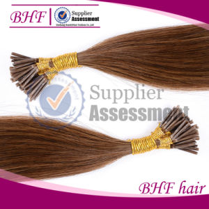 """24"""" 50g Natural Keratin Capsule Prebonded U/Nail Tip Hair Extension U Tip Hair Extensions 5 Colors Available100s/Bag pictures & photos"""