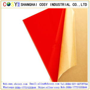 Wholesale High Gloss Color Transparent Plastic Cast Acrylic Sheet Price pictures & photos