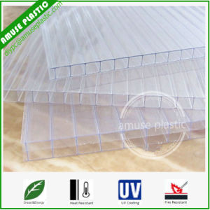 4mm Plastic Polycarbonate (PC) Sheet Polycarbonate Panel for DIY Greenhouse pictures & photos