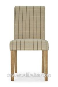 Rch-4069-3 New Design Stripe Fabric Covered Stacking Banquet Dining Chairs pictures & photos
