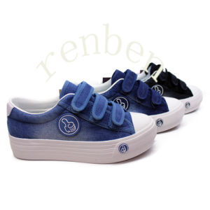 Hot Popular Women′s Fashion Casual Canvas Shoes pictures & photos