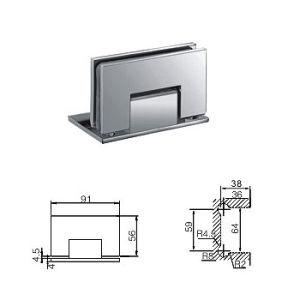 Brass Shower Room Hinge / Shower Room Glass Fixing (C-105)