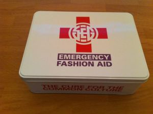 Emergency Fashion Aid and Health Care Product Tin Box pictures & photos