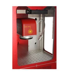 Beijing Manufacturer Enclosed 20W Fiber Laser Marking Machine for Cutting Tools Marking pictures & photos