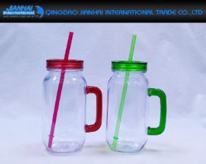 550ml Festival Party Drinking Glass Mug with Handle pictures & photos